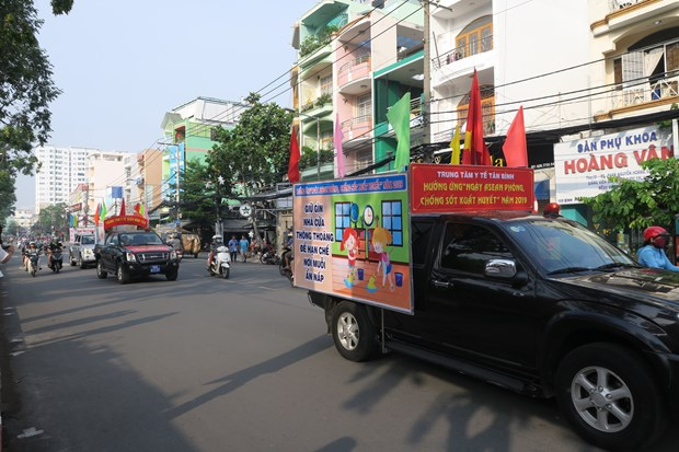 HCM City launches anti-dengue fever campaign hinh anh 2