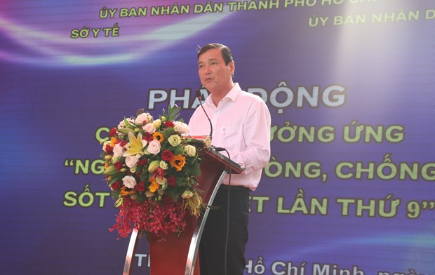 HCM City launches anti-dengue fever campaign hinh anh 1