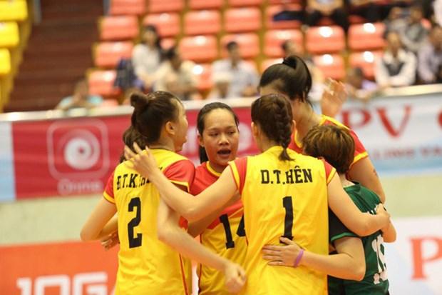 VTV9-Binh Dien Int'l Women's Volleyball Tournament opens hinh anh 1