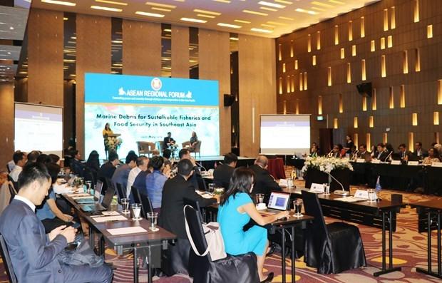 Regional workshop discusses marine plastic waste management hinh anh 1