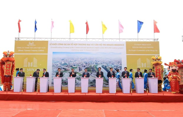 Construction of 105 million USD project begins in Hai Phong hinh anh 1