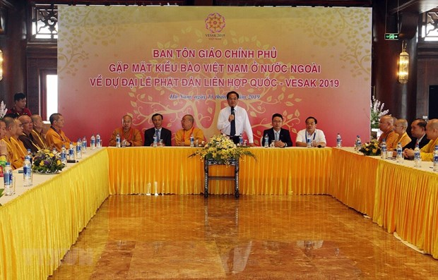 Government official hopes for RoK support for Buddhist activities hinh anh 1
