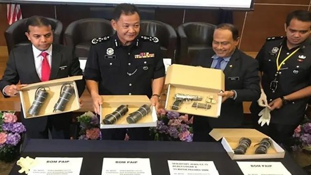 Malaysian police arrest four terror suspects hinh anh 1