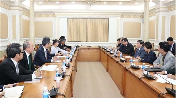 Ho Chi Minh City, Japan boost economic ties hinh anh 1