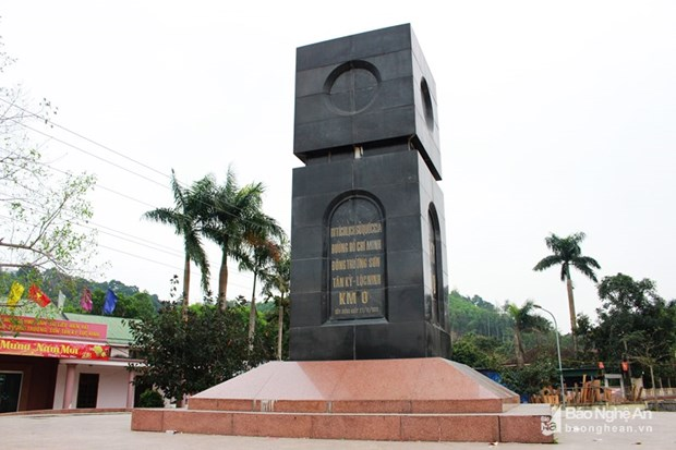 Ho Chi Minh Trail starting point accredited as special national relic hinh anh 1