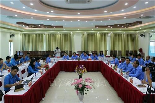 Son La, Lao provinces exchange experience in trade union work hinh anh 1
