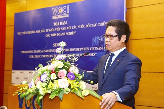Strategic partners crucial to Vietnam's economy: VCCI chairman hinh anh 1