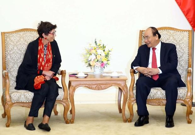 PM hosts Norwegian Ambassador to Vietnam hinh anh 1