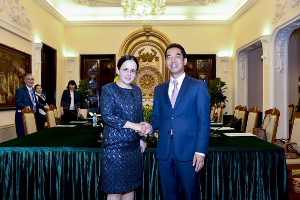 Vietnam, Romania hold political consultation in Hanoi hinh anh 1