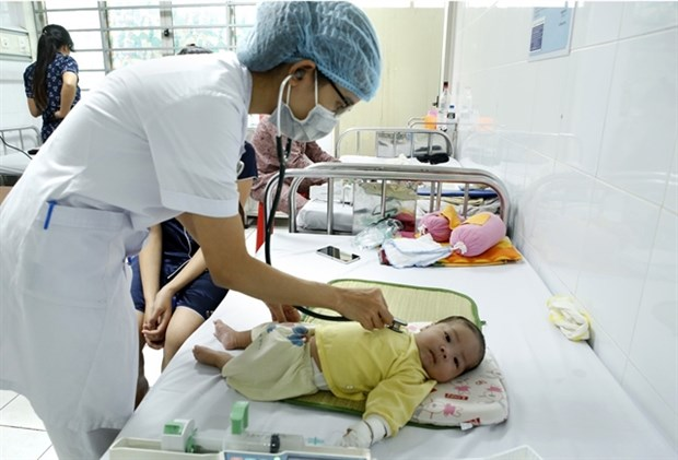 Measles forecast to rise in Hanoi city hinh anh 1