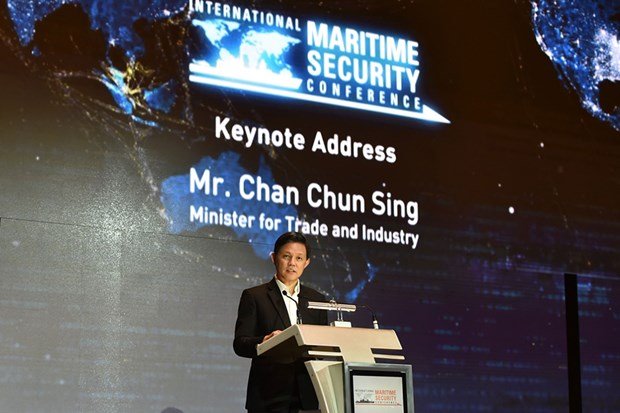 Trust, cooperation vital for marine security: Singaporean official hinh anh 1