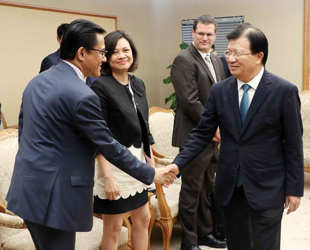 Vietnamese, French firms encouraged to expand cooperation in aviation hinh anh 1