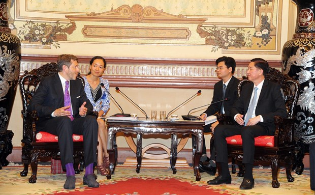 HCM City, Austria tap cooperation potential hinh anh 1