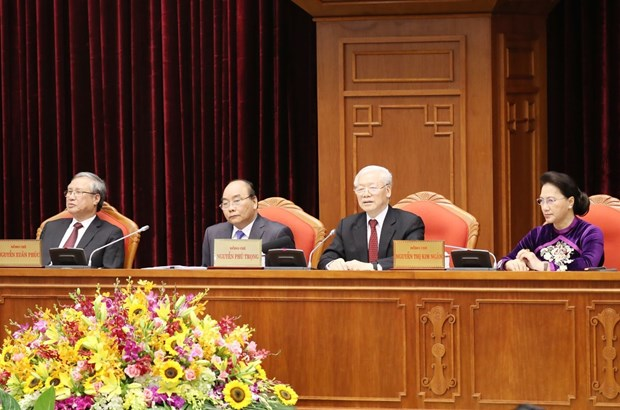 Party Central Committee commences 10th meeting hinh anh 1