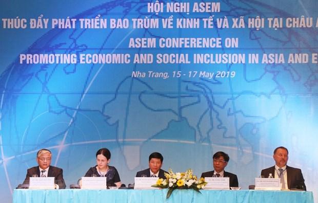 ASEM talks inclusive socio-economic development in Khanh Hoa hinh anh 1