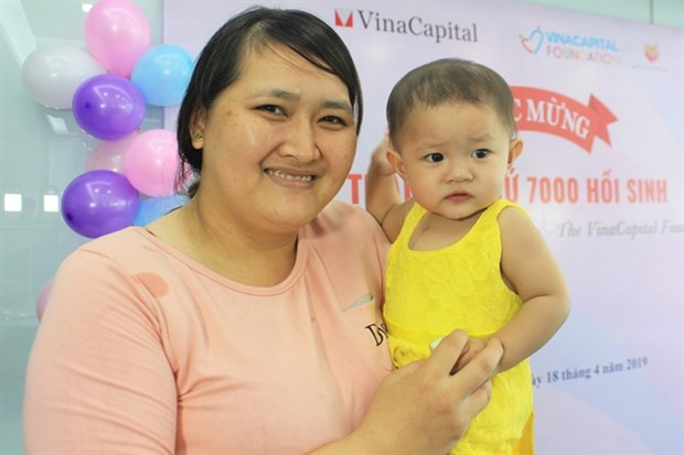 Heartbeat Vietnam funds heart operations for 7,000 children hinh anh 1