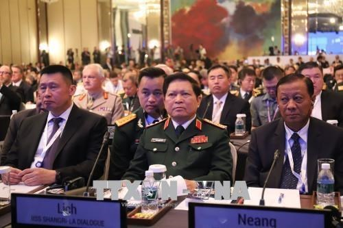 Vietnam to actively contribute to 18th Shangri-La Dialogue: officer hinh anh 1