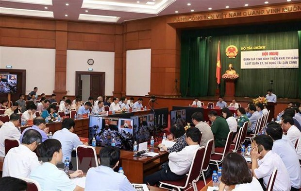 MoF reviews law on public asset management and use hinh anh 1