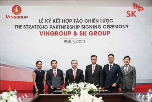RoK's SK group to pour 1 billion USD in Vingroup hinh anh 1