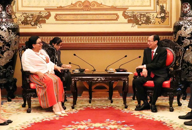 HCM City wants to cooperate with Cuba in health care hinh anh 1