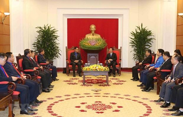 Youth cooperation important to Vietnam-Laos relations: Party official hinh anh 1