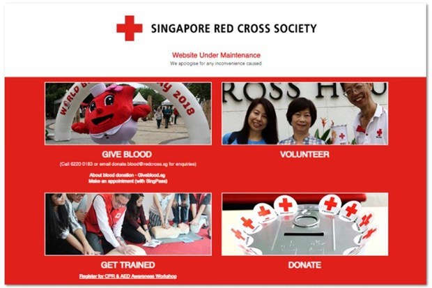 Singapore Red Cross website hacked, details of 4,000 blood donors leaked hinh anh 1