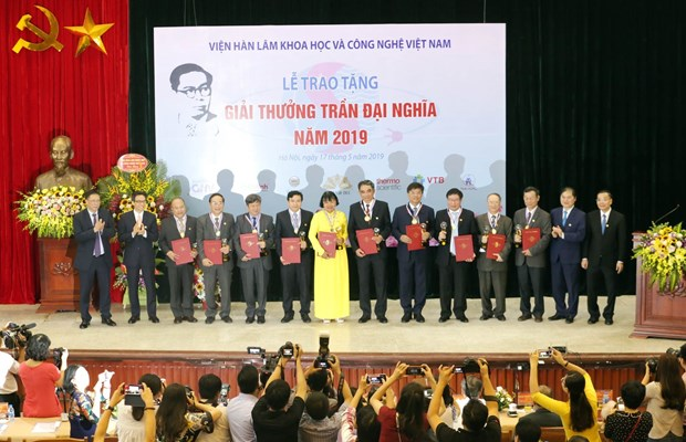 Outstanding scientific researches honoured with Tran Dai Nghia Award hinh anh 1