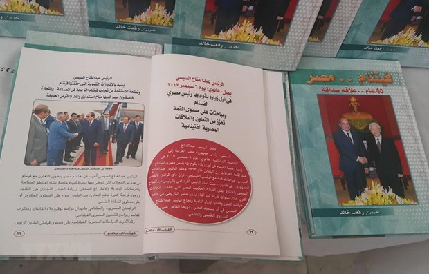 Book on Vietnam-Egypt ties debuts in Arabic language hinh anh 1