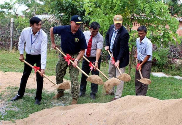 Pacific Partnership 2019 funds school building in Phu Yen hinh anh 1