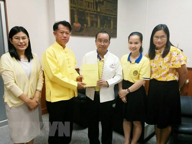 Book on President Ho Chi Minh published in Thailand hinh anh 1