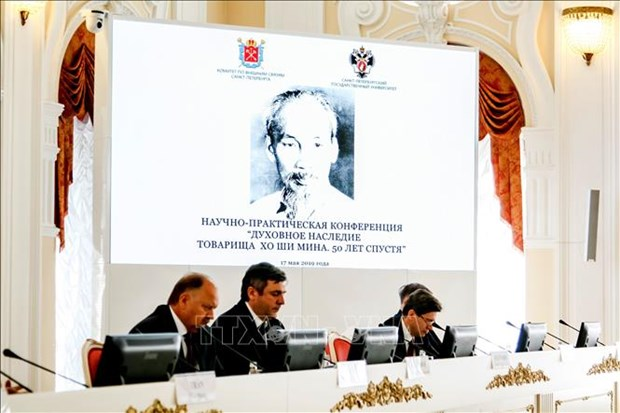 President Ho Chi Minh's spiritual heritage highlighted in Russia hinh anh 1