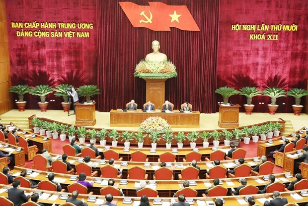 Party Central Committee completes 10th meeting's agenda hinh anh 1
