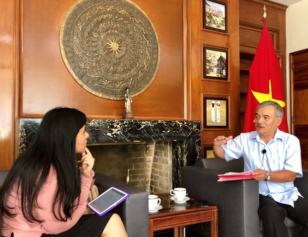 Vietnam-Mexico relations flourishing in all spheres: diplomat hinh anh 1