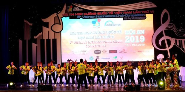 Indonesian choir wins international contest in Hoi An hinh anh 1