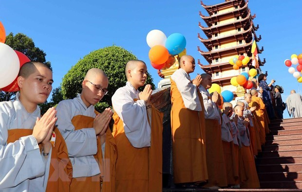 Lord Buddha's 2563rd birthday celebrated in HCM City hinh anh 1