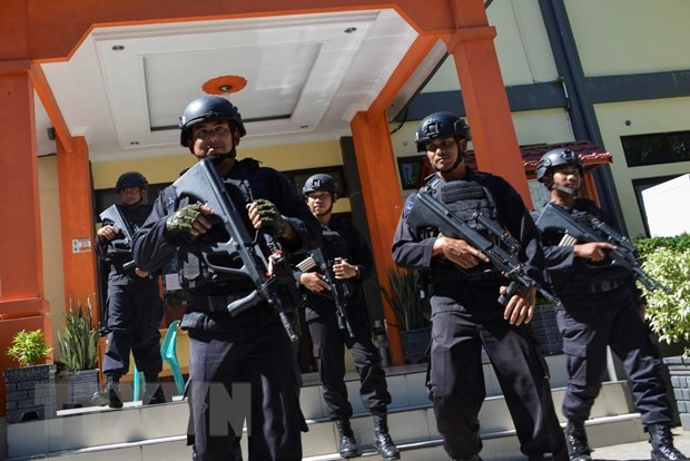 Indonesia steps up security ahead of presidential election result hinh anh 1