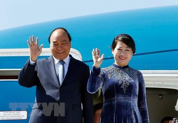 PM Nguyen Xuan Phuc sets off for official visits to Russia, Norway, Sweden hinh anh 1