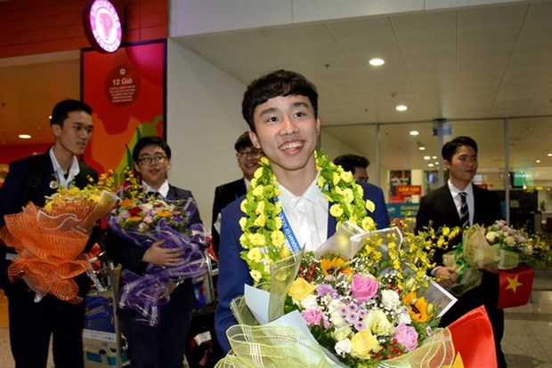 Vietnamese student wins third prize at int'l science contest in US hinh anh 1