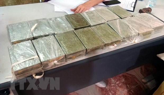 Hai Duong police bust biggest-ever heroin smuggling case hinh anh 1