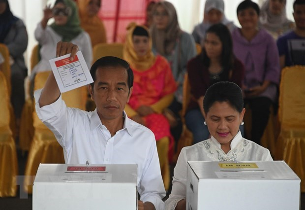 Indonesia: Joko Widodo reelected for second tenure hinh anh 1