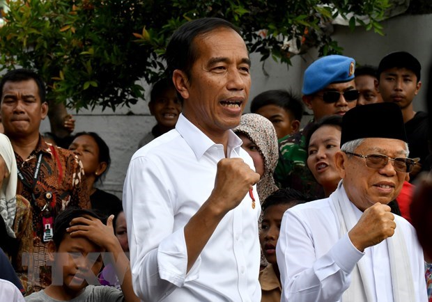 Indonesian election: Widodo makes victory speech hinh anh 1