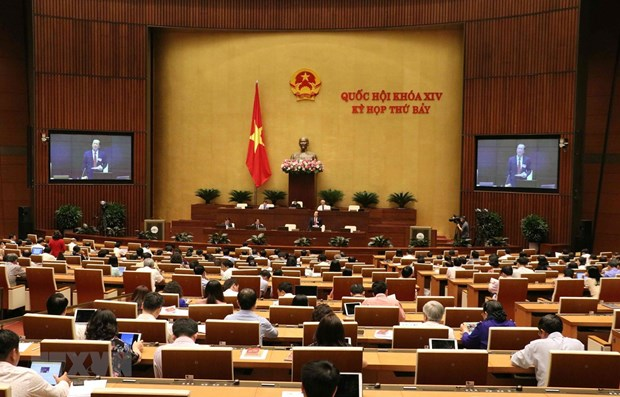 NA's second working day focuses on education, architecture laws hinh anh 1