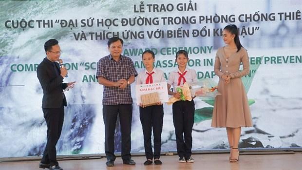 Seventh graders win environmental documentary award hinh anh 1