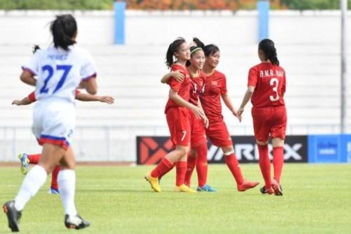 Vietnam rank third in AFF U15 Girls Championship hinh anh 1