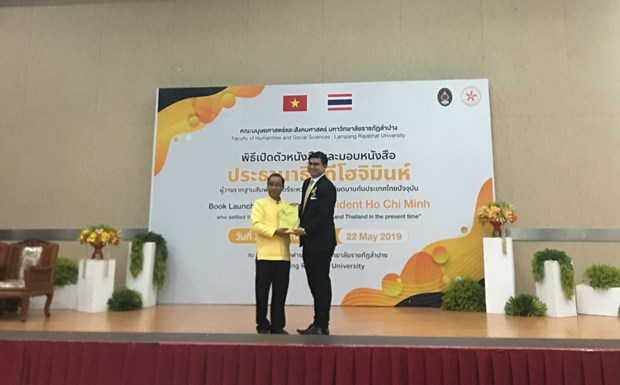 Book on President Ho Chi Minh launched in Thailand hinh anh 1