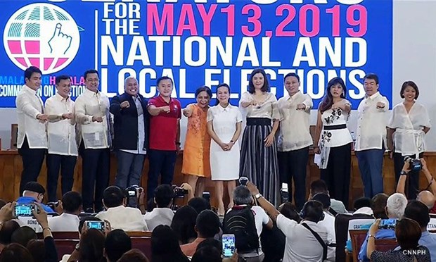 Allies of Philippine President win big in midterm polls hinh anh 1