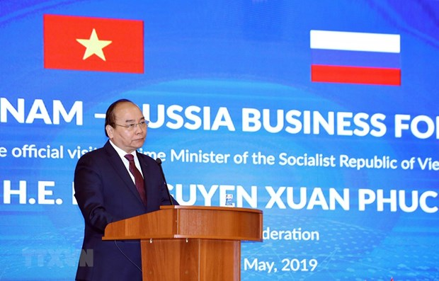Vietnam always welcomes Russian enterprises, says PM hinh anh 1