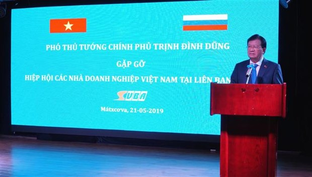 Deputy PM chairs meeting of Vietnamese, Russian businesses hinh anh 1