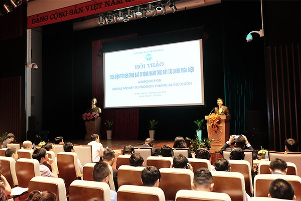 Mobile money to promote financial inclusion in VN: workshop hinh anh 1