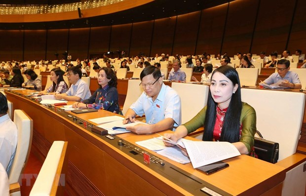 Bill on alcohol harm prevention a focus of NA's 4th working day hinh anh 1